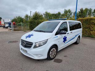 ambulan MERCEDES-BENZ VITO 163 CV - 2018 - 204 000 KM - AUTOMATIC