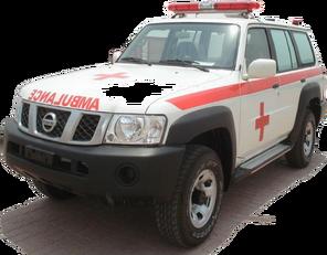ambulan NISSAN Patrol 4.0 XE AT baru