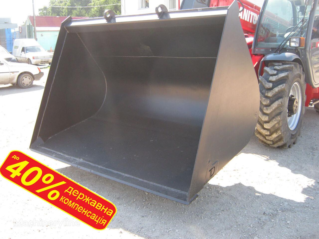 bucket loader depan MANITOU  JCB, Bobcat, HAULOTTE, CLAAS - Kovshi zernovye baru