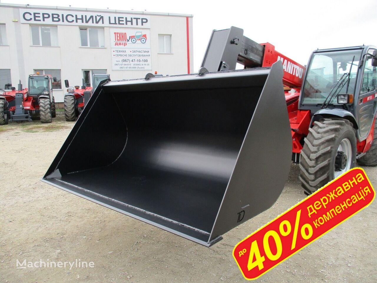 bucket loader depan MANITOU KOVSh 1.5m3 - 3m3 DERZhKOMPENSACIYa do 40% baru