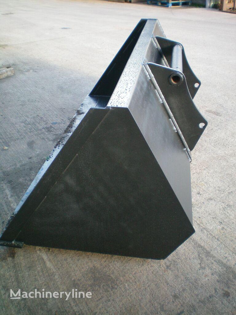 bucket loader depan Zernovoy kovsh teleskopicheskogo pogruzchika JCB, MANITOU