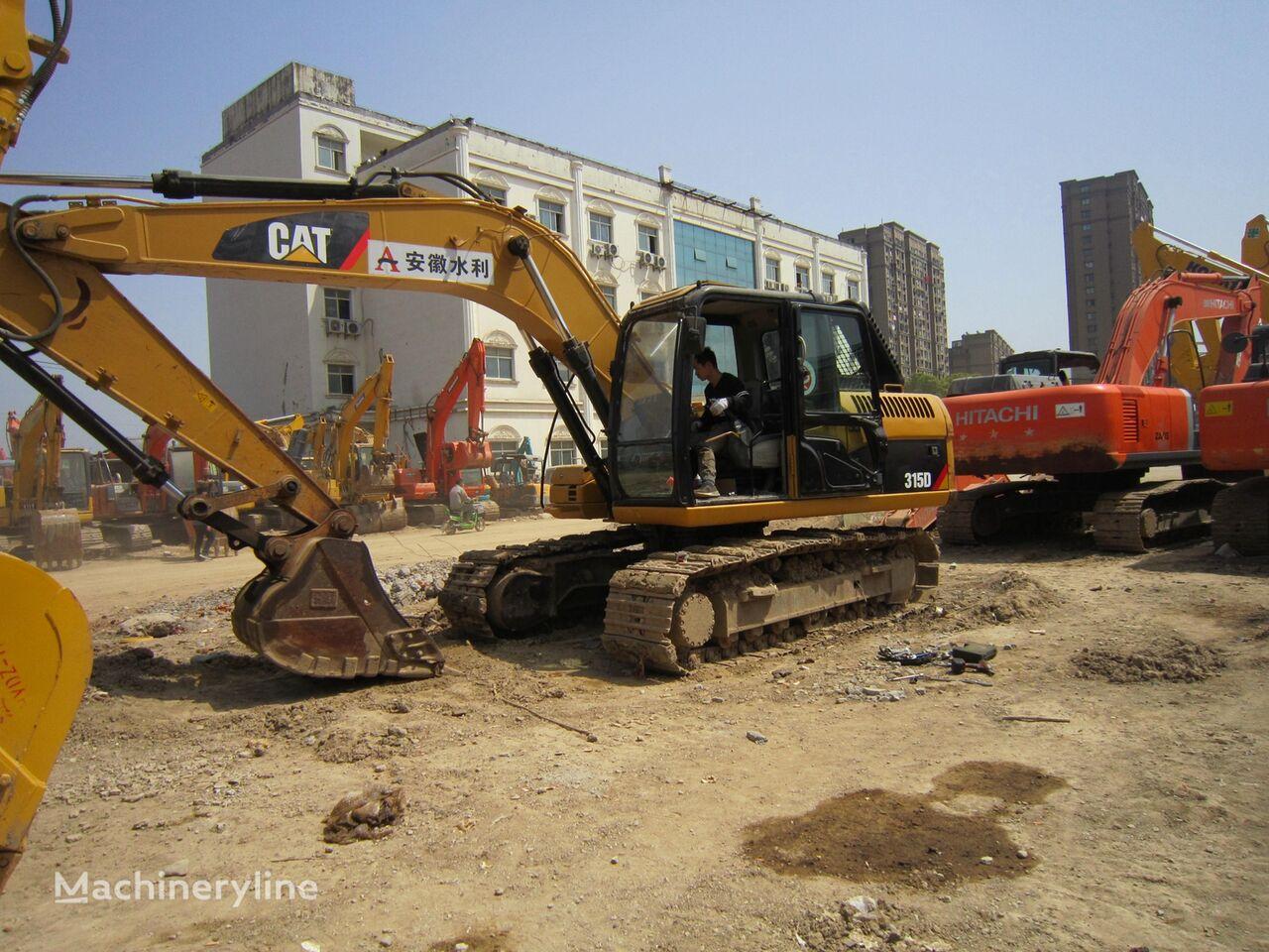 excavator dengan track CATERPILLAR 315D
