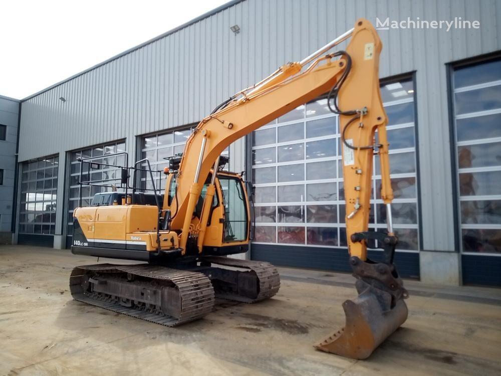 excavator dengan track HYUNDAI Robex 140 LS