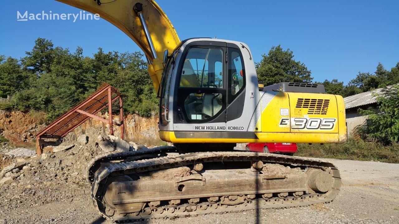 excavator dengan track NEW HOLLAND E305