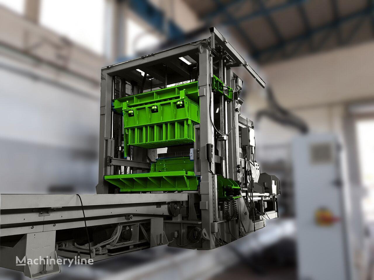 mesin pembuat blok beton SUMAB SWEDEN R-400 (800 blocks/hour) ADVANCED BLOCK Machine baru