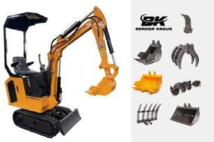 mesin penggali mini BERGER KRAUS Mini Excavator BK800BS torsion arm with FULL equipment baru