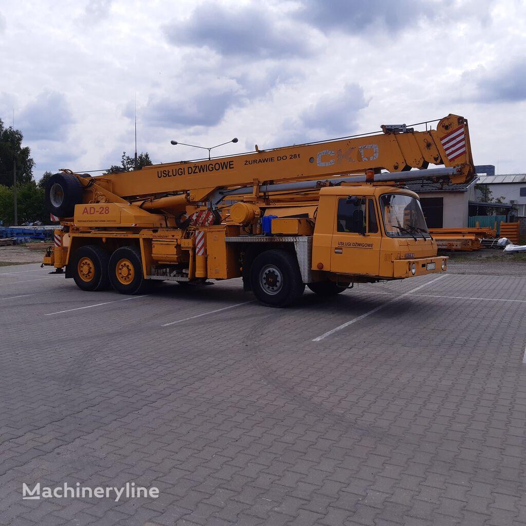 mobile crane TATRA AD 28