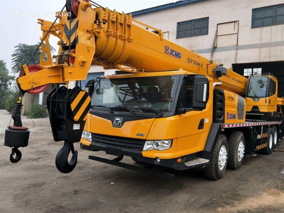 mobile crane XCMG XCMG QY50KA 50 ton used hydraulic truck crane