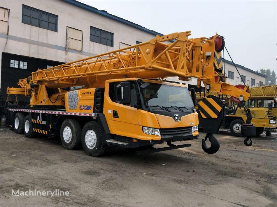 mobile crane XCMG XCMG QY50KA 50 ton used truck crane