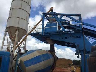 pabrik beton CONMACH MobKing-60 Concrete Mobile Batching Plant - 50 m3/h baru