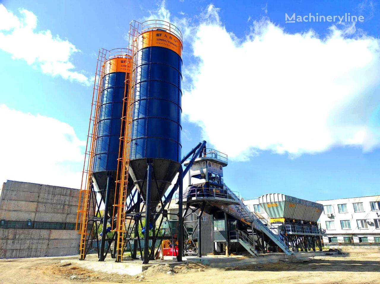 pabrik beton FABO FABOMIX COMPACT-120 CONCRETE PLANT   CONVEYOR TYPE baru