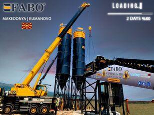 pabrik beton FABO MIX COMPACT-110 CONCRETE PLANT   CONVEYOR TYPE baru
