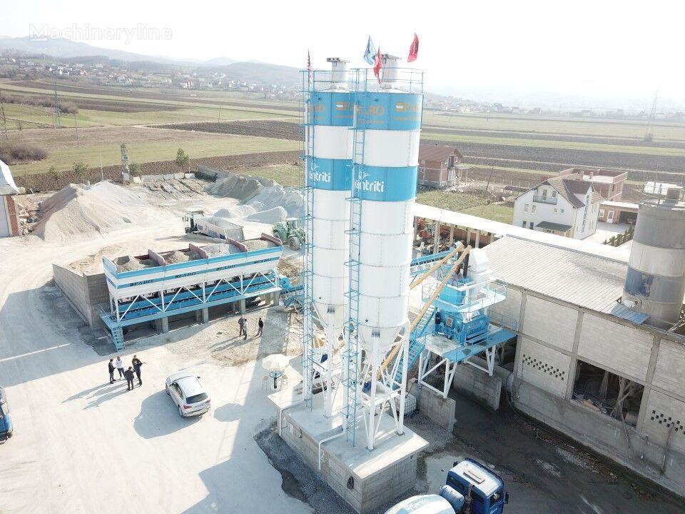 pabrik beton FABO POWERMIX-100 STATIONARY CONCRETE BATCHING PLANT baru