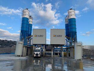 pabrik beton FABO POWERMIX-200 STATIONARY CONCRETE BATCHING PLANT baru
