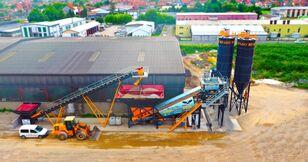 pabrik beton FABO TURBOMIX 100 Mobiles Centrales À Béton baru