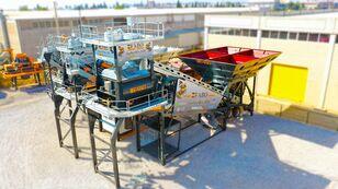pabrik beton FABO TURBOMIX-120 MOBILE CONCRETE PLANT READY IN STOCK baru