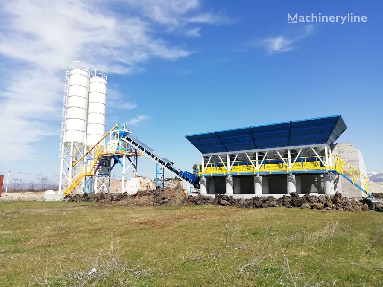 pabrik beton PROMAX Compact Concrete Batching Plant C60-SNG-LINE (60m3/h) baru