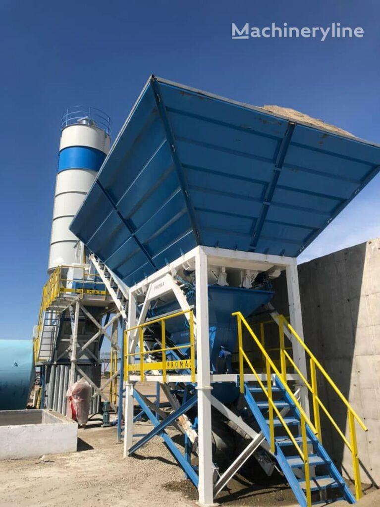 pabrik beton PROMAX Compact Concrete Batching Plant C60-SNG-PLUS (60m3/h) baru