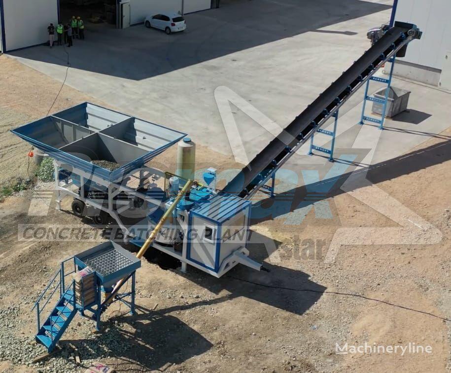 pabrik beton PROMAX Mobile Concrete Batching Plant M35-PLNT (35m3/h) baru