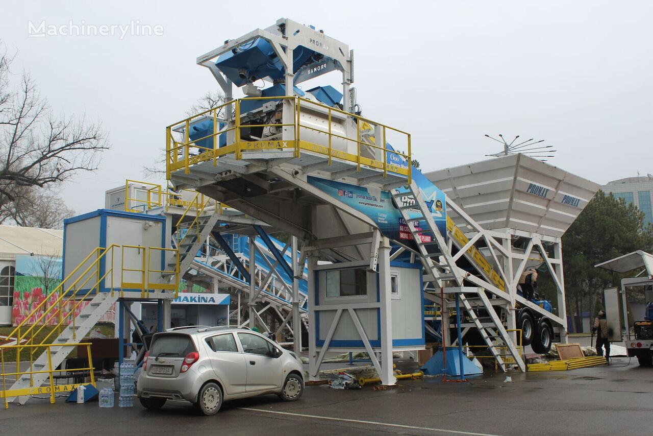 pabrik beton PROMAX Mobile Concrete Batching Plant PROMAX M100-TWN (100m³/h) baru