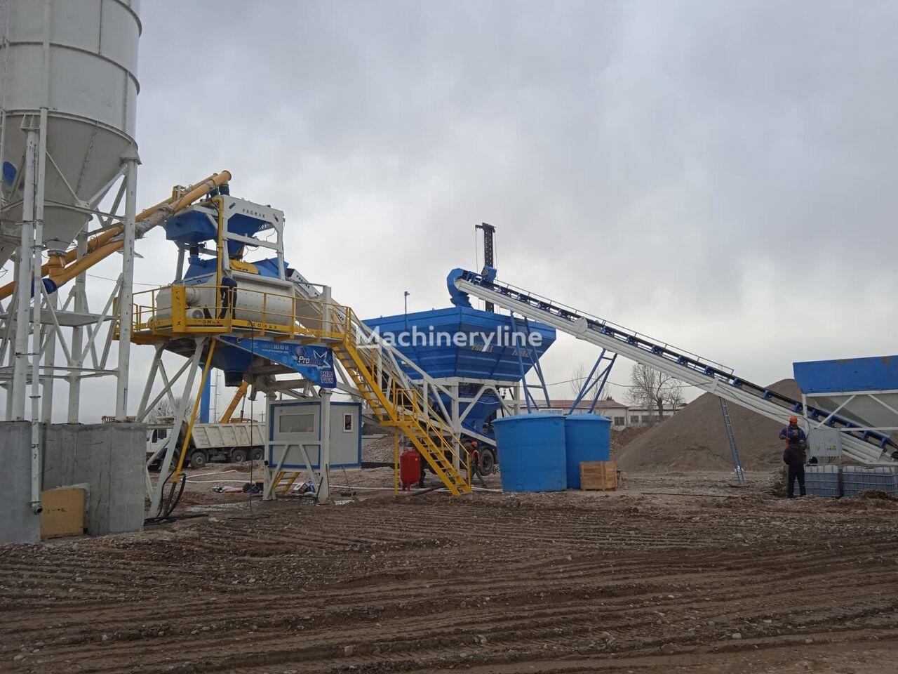 pabrik beton PROMAX Mobile Concrete Batching Plant PROMAX M120-TWN (120m/h) baru