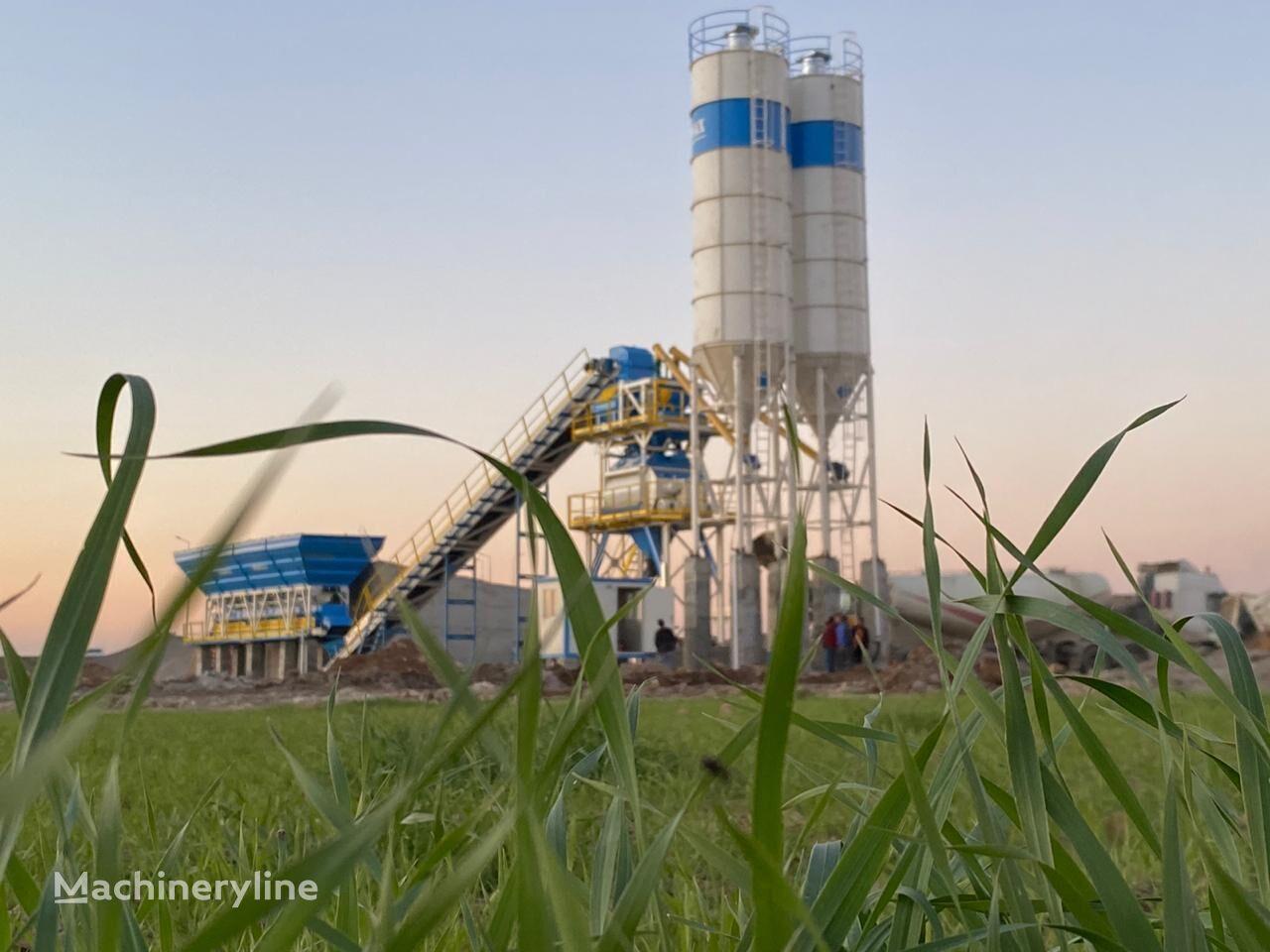 pabrik beton PROMAX STATIONARY Concrete Batching Plant PROMAX S130-TWN (130m/h) baru