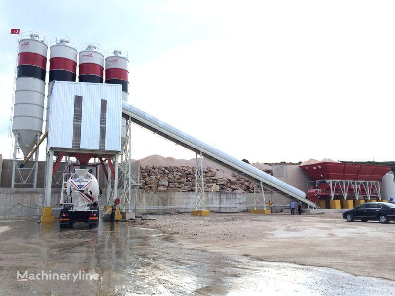 pabrik beton PROMAX STATIONARY Concrete Batching Plant S160-TWN (160m3/h) baru