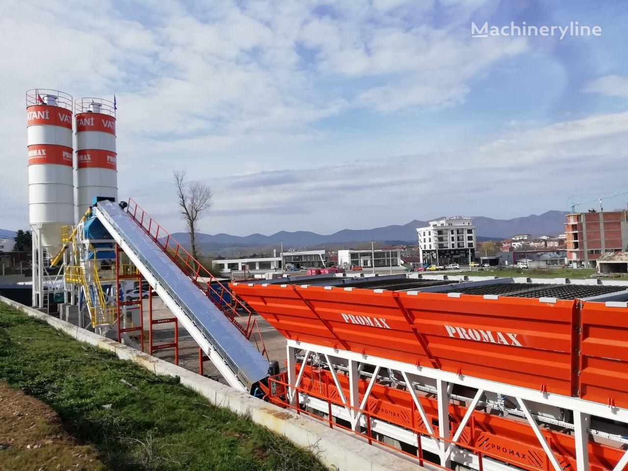 pabrik beton PROMAX Stationary Concrete Batching Plant S100 TWN (100m³/h) baru