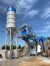 pabrik beton Plusmix 60m³/Hour MOBILE Concrete Plant - BETONNYY ZAVOD baru