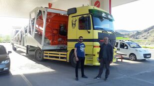 pabrik beton Plusmix PLUSMİX ST120-TWN Double Chassis -:120m³/hour  Mobile Concrete P baru
