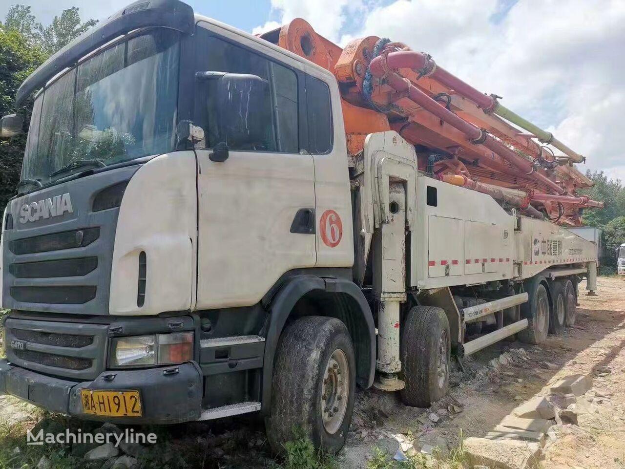 pompa adonan beton ZOOMLION ZLJ5530THBK