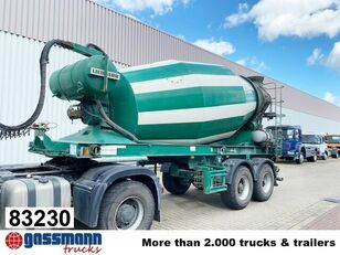 semi-trailer pengaduk beton LIEBHERR  10m³  Betonmischer ca