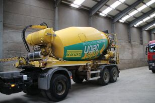 semi-trailer pengaduk beton LIEBHERR BETON MIXER HTM 1004 ZA - 10 M³