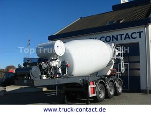 semi-trailer pengaduk beton SCHWARZMÜLLER TTC-Fulda Betonmischer Auflieger mit Motor  NEU