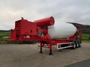 semi-trailer pengaduk beton SDC