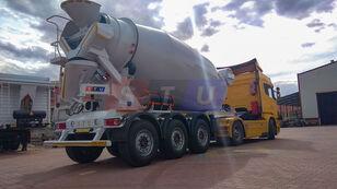 semi-trailer pengaduk beton STU 12.7 CBM MIXER TRAILER baru