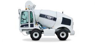 truck pencampur adonan beton FIORI DBX25 baru