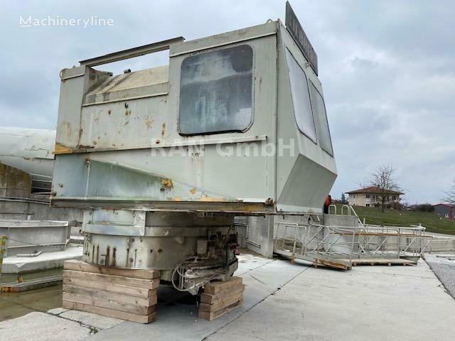 truck pencampur adonan beton LIEBHERR Mischanlage 1m3 Festbeton mit  Schrappe