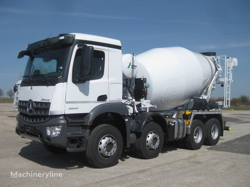 truck pencampur adonan beton Stetter AM 9FHC  dengan sasis MERCEDES-BENZ Arocs 3540 Stetter AM 9FHC UltraEco 8x4 baru