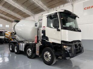 truck pencampur adonan beton Baryval 9 dengan sasis RENAULT 520