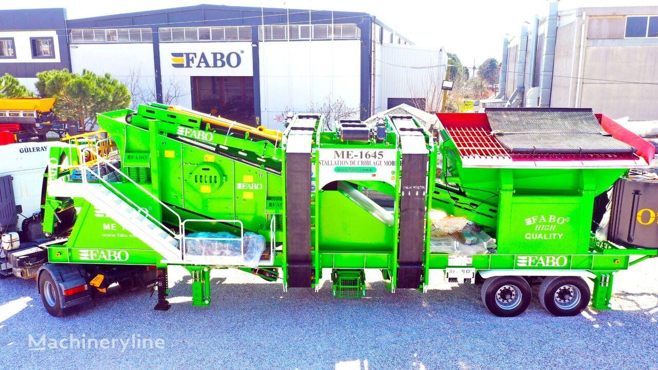 mesin pemilah getar FABO ME 1645 SERIES MOBILE SAND SCREENING PLANT baru