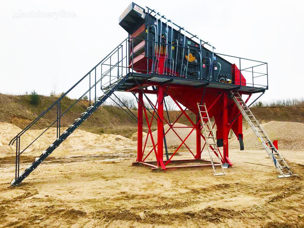 mesin pemilah getar FABO TE SERIES 2000x6000mm VIBRATING SCREEN baru
