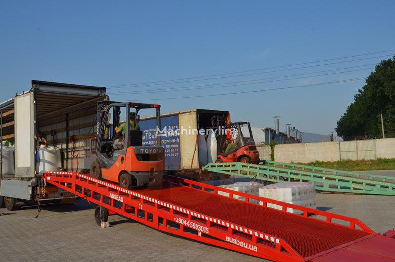 ramp untuk bongkar muat AUSBAU Mobile Verladerampe, mobile loading ramp, rampe mobile baru