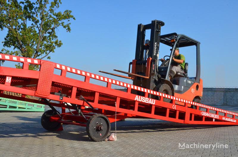 ramp untuk bongkar muat AUSBAU Mobile ramp, mobile loading ramp baru