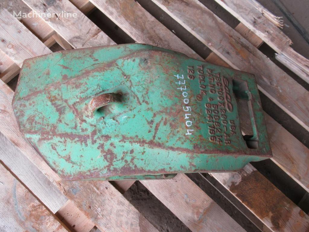 gerigi bucket Esco TBC100x290-4R untuk excavator baru