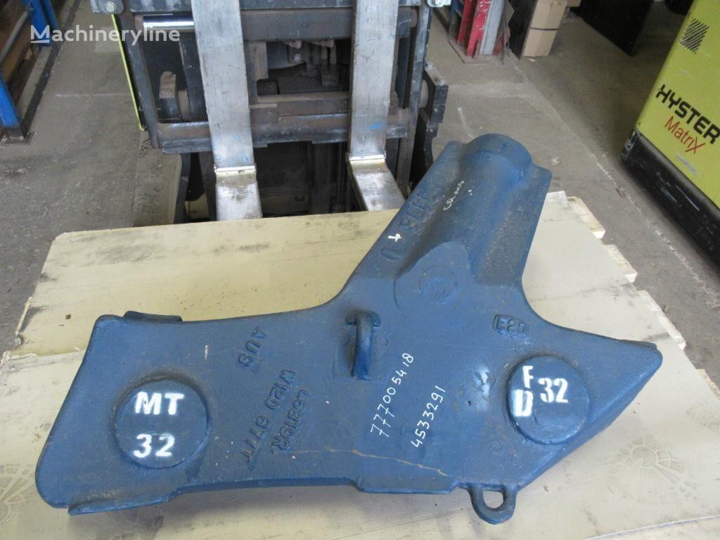 quick coupler COMS - RAZER RH-L6819RW120-677T (4533291) untuk excavator baru